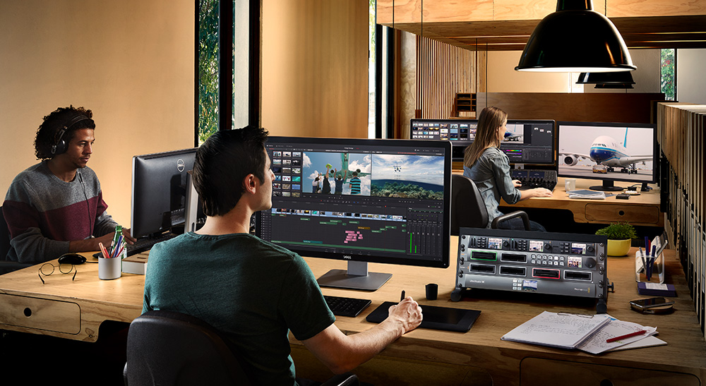BlackMagic Davinci resolve 1