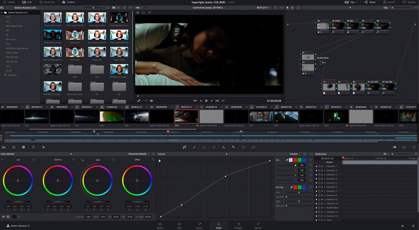 BlackMagic Davinci resolve 3