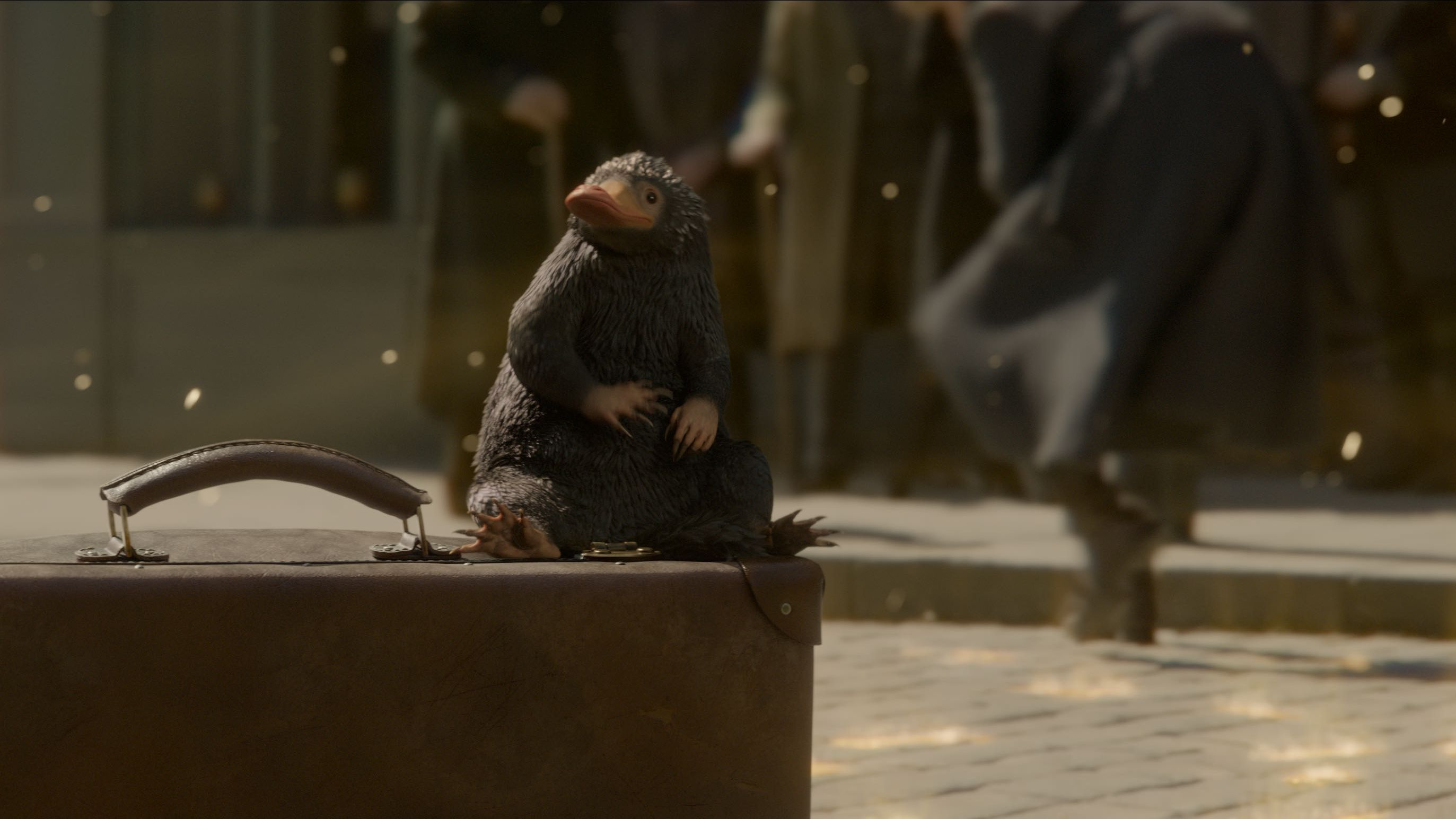 crimes grindelwald niffler