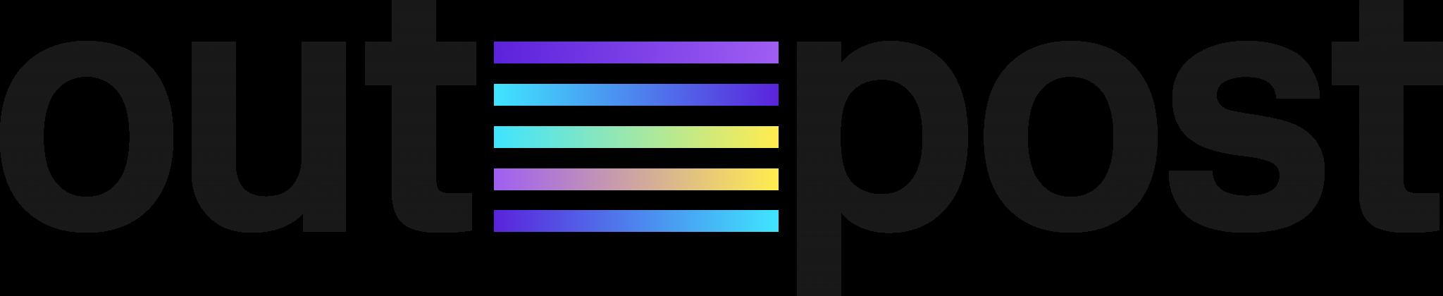 Outpost Logo Charcoal Colour transparent