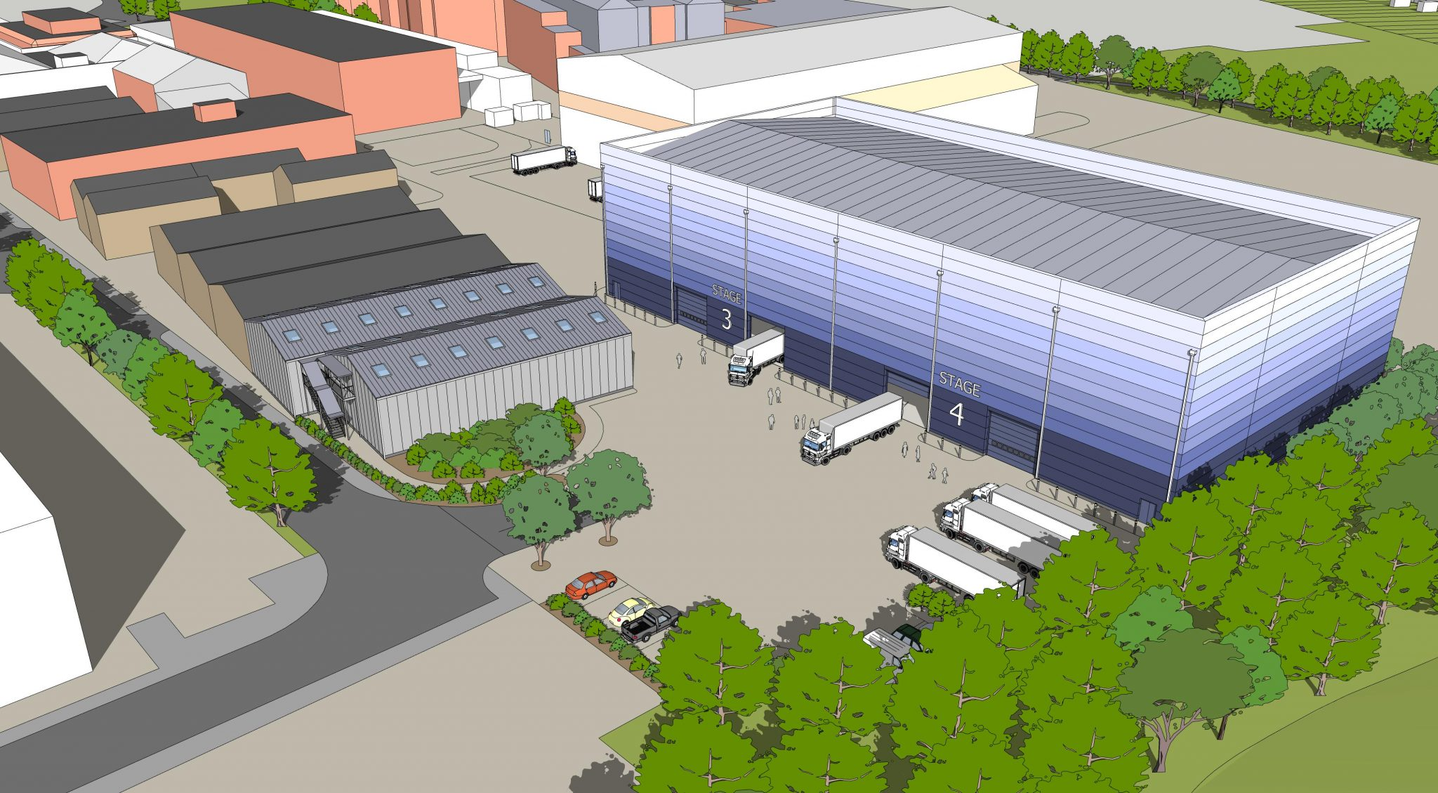 Elstree Studios 2 New Stages