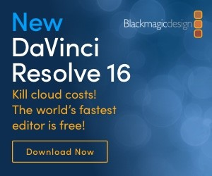 Black Magic New DaVinci Resolve 16