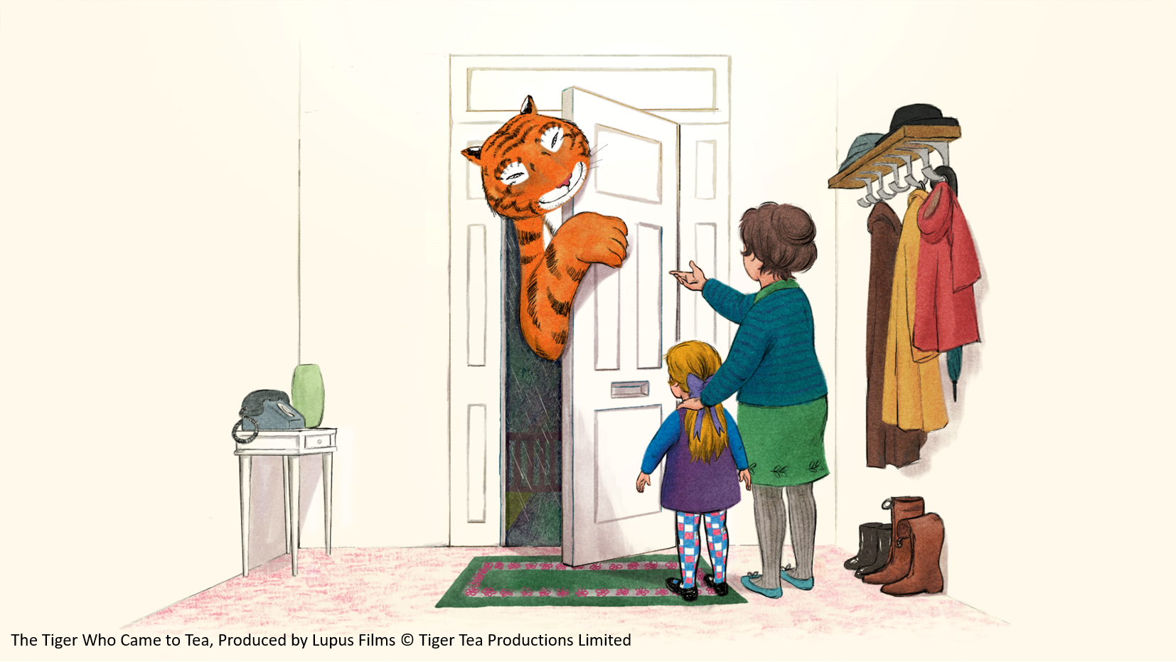 2The Tiger Who Came to Tea, Produced by Lupus Films © Tiger Tea Productions Limited